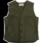 Stormy Kromer Button Vest 52510-415 Olive