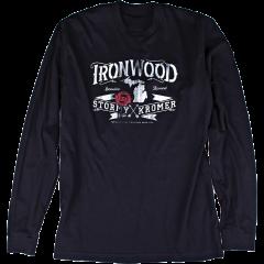 Stormy Kromer Long Sleeve Ironwood Tee 53100-00F Black