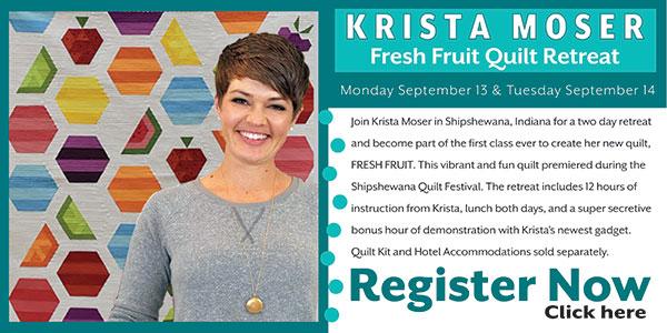 Krista Moser Fresh Fruit Workshop